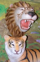Lion Head - Resin (JR 2332) - Thumbnail 03