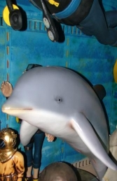 Dolphin on stand (JR 2158-B) - Thumbnail 02