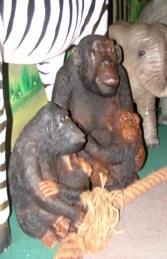 Monkey & Baby 2.5ft (JR 2196) - Thumbnail 03
