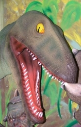 Raptor Dinosaur Head (JR 2307)