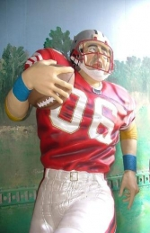 American Football Player Lifesize (JR 1619) - Thumbnail 03
