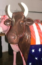 American Flag Cow life-size (JR 7013)