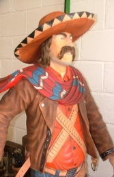 Cowboy Mexican Bandit 6ft (JR 1578) - Thumbnail 02