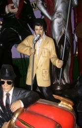 Elvis style Singer with Microphone 3ft (JR 1592) - Thumbnail 01