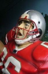 American Football Player Lifesize (JR 1619) - Thumbnail 02
