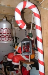 Candy Cane with Lamp (JR CCWL) - Thumbnail 01