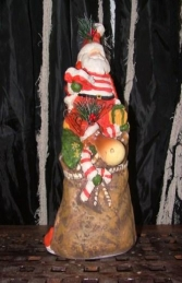 "Christmas Santa with Reindeer in Sack 32"" (JR PP8055) - Thumbnail 02"