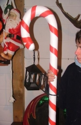 Candy Cane with Lamp (JR CCWL) - Thumbnail 03