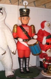 Nutcracker with Drum 7ft (JR 2371) - Thumbnail 01