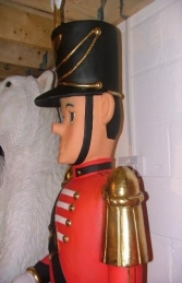 Nutcracker with Drum 7ft (JR 2371) - Thumbnail 03