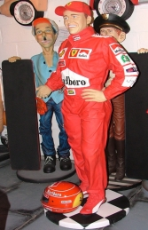 Ferrari Racing Driver 6ft (JR 2553)