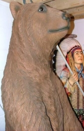 Grizzly Bear 7ft tall (JR 2574) - Thumbnail 02