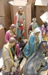 Full Nativity Set 2ft (JR NAT2) - Thumbnail 02