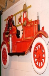 Fire Truck Wall Decoration (JR DF6500) - Thumbnail 02