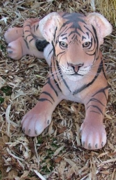 Tiger Cub Lying down (JR 080148) - Thumbnail 02