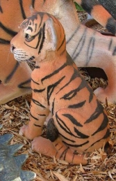 Tiger Cub Sitting (JR 080149) - Thumbnail 01