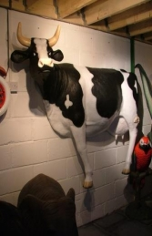Wall Mounted Cow Lifesize (JR 090044) - Thumbnail 01