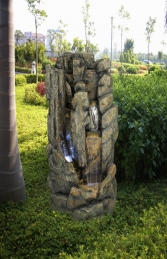 DW73004 Large Poly Resin Water Feature