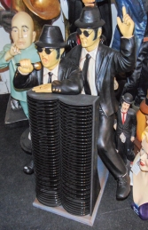 Blues Brothers 3ft CD Rack (JR 1878)  - Thumbnail 03