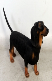 Daschund Dog - Black (JR 110105blk)