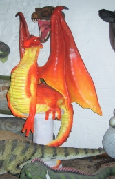 Dragon 7ft on base (JR 080081R) - Thumbnail 02