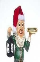 Elf Butler with Lamp & Tray 3ft (JR 2237) - Thumbnail 03