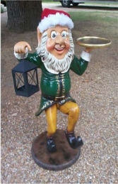 Elf Butler with Lamp & Tray 3ft (JR 2237) - Thumbnail 01