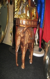 Egyptian Elephant Side Table (JR 5032) - Thumbnail 02