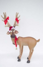 Funny Reindeer Standing with Crossed Legs (JR 2214) - Thumbnail 03