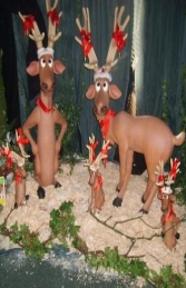 Funny Reindeer standing on crossed legs (JR 2318) - Thumbnail 03
