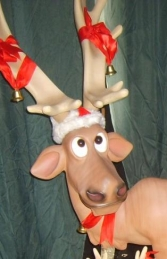 Funny Reindeer Standing with Crossed Legs (JR 2214) - Thumbnail 02