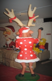 Funny Reindeer Female 6ft (JR HV) - Thumbnail 03