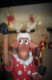 Funny Reindeer Female 6ft (JR HV) - Thumbnail 02