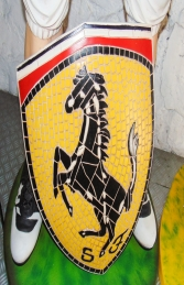 Ferrari Badge Mosaic (JR 2607) - Thumbnail 02