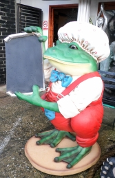 Frog with Black-board (JR 2222) - Thumbnail 03