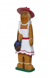 Ginger Bread Woman (JR 3128) - Thumbnail 01
