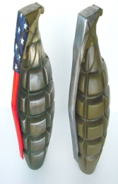 Model Grenade - Stars and Stripes 2.5ft (JR 2177-SS)