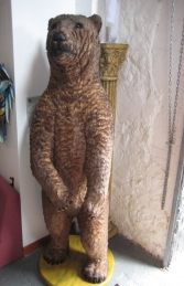 Grizzly Bear with Fur 7ft Tall (JR 2574-F)