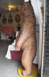 Grizzly Bear with Fur 7ft Tall (JR 2574-F) - Thumbnail 03
