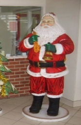 Father Christmas/Santa Claus Figure 6ft (JR 864)