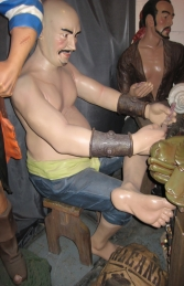 Seated Pirate Moreno 5.5ft (JR R-068)	 - Thumbnail 03