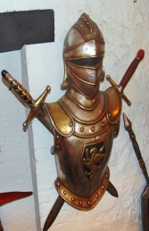 German Armour with Sword - wall decor (JR 2297)