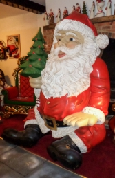 Giant Sitting Santa Claus Statue- 8ft (JR 140080) - Thumbnail 02