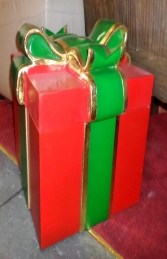 Gift Box With Green Ribbon (JR 2761) - Thumbnail 03