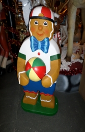 Ginger Bread Boy with Ball 4ft (JR 3126) - Thumbnail 01
