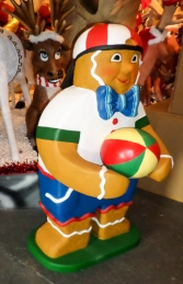 Ginger Bread Boy with Ball 4ft (JR 3126) - Thumbnail 02
