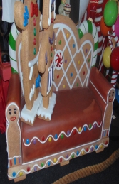 Gingerbread Bench (JR S-130) - Thumbnail 02