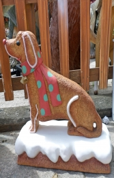 Ginger Bread Dog (JR S-075) - Thumbnail 03