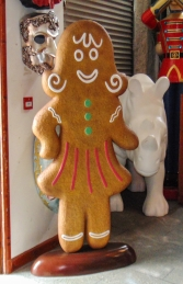 Ginger Bread Woman (JR 170057) - Thumbnail 02