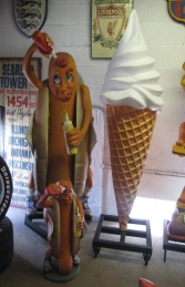 Hot-Dog Man 2.5ft (JR 1202) - Thumbnail 02
